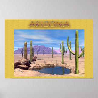 """Old Arizona"" Poster"