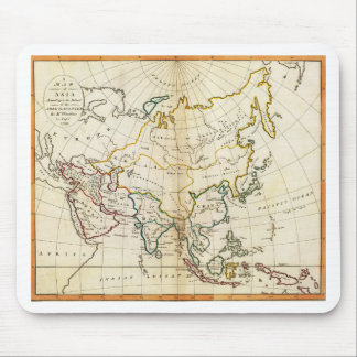 Old Asia map 1799 Mouse Pad