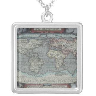 Old Atlas Silver Plated Necklace