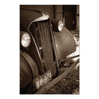 Old Auto Photo Art