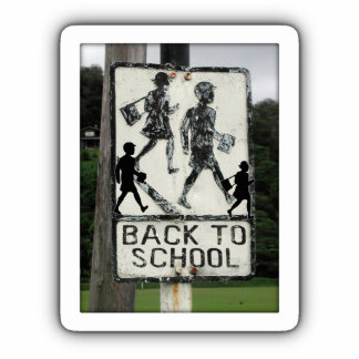 Old Back To School Sign Acrylic Cut Outs