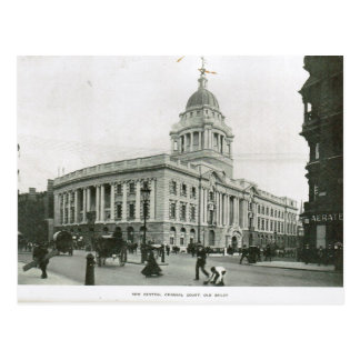Old Bailey 1900 Postcard