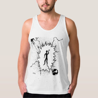 Old Ball and Chain Tank Top Design