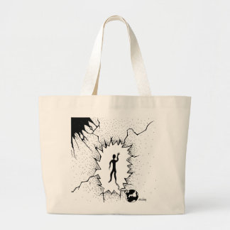 Old Ball and Chain Tote Bag Design