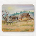 OLD BARN & APPALOOSA by SHARON SHARPE Mouse Pad
