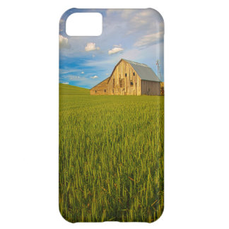Old Barn in Field of Spring Wheat 2 iPhone 5C Case
