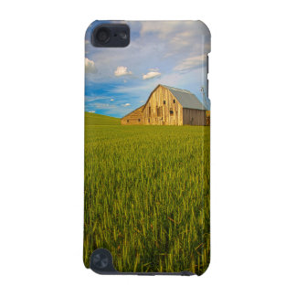 Old Barn in Field of Spring Wheat 2 iPod Touch (5th Generation) Cases