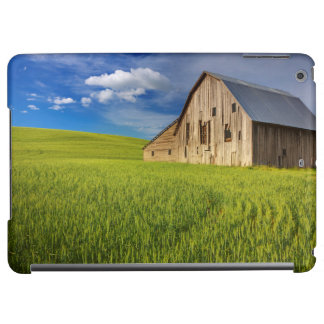 Old Barn in Field of Spring Wheat Case For iPad Air