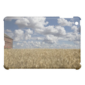 Old Barn in Wheat Field 2 iPad Mini Cover