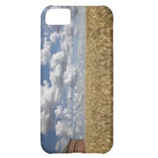Old Barn in Wheat Field 2 iPhone 5C Case