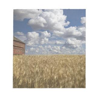 Old Barn in Wheat Field 2 Notepad
