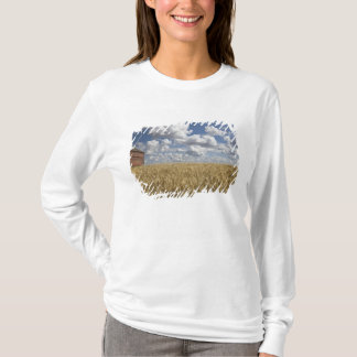 Old Barn in Wheat Field 2 T-Shirt