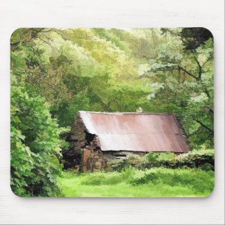 OLD BARN MOUSE MAT