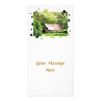 OLD BARN PHOTO CARD TEMPLATE