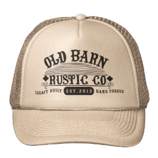 Old Barn Rustic Co. Iconic Logo Hat