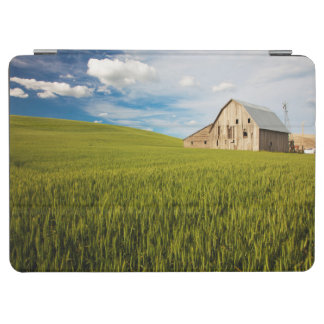 Old Barn Surrounded by Spring Wheat Field 2 iPad Air Cover