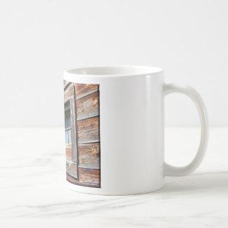 Old Barn Window Classic White Coffee Mug