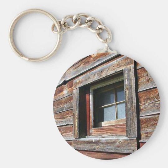 Old Barn Window Key Ring