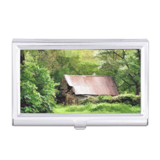 OLD BARNS BUSINESS CARD HOLDER