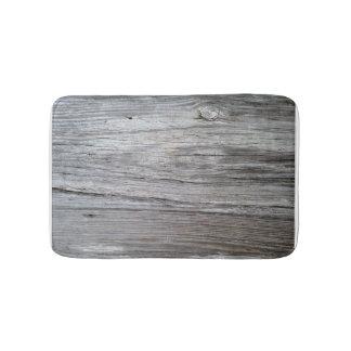 Old barnwood board bath mat bath mats