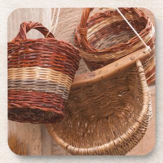 old basket coaster