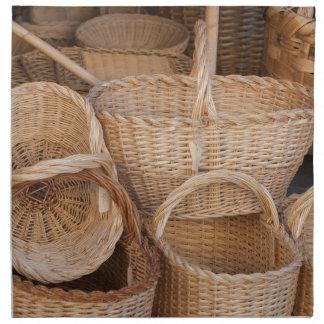 old basketold basket napkin