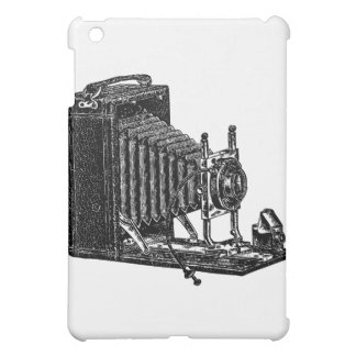 Old Bellows Camera - Vintage Illustration Cover For The iPad Mini