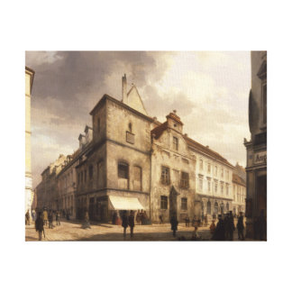 Old Berlin City Hall, 1867 Canvas Print