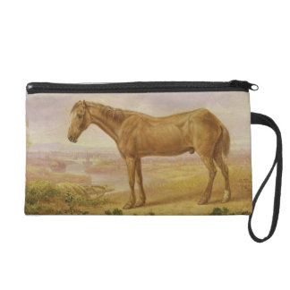Old Billy, a Draught Horse, Aged 62 (oil on panel) Wristlet Purses
