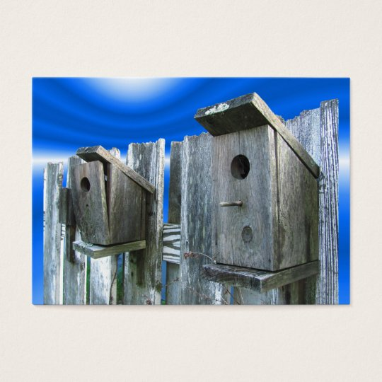 Old Bird Houses ~ ATC Business Card