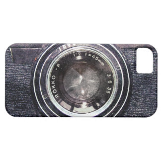Old black camera case for the iPhone 5