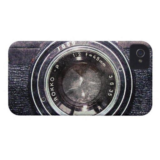 Old black camera iPhone 4 Case-Mate case