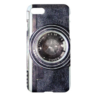 Old black camera iPhone 7 case