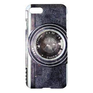 Old black camera iPhone 7 case
