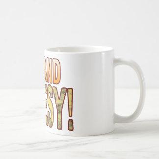 Old Blue Cheesy Basic White Mug