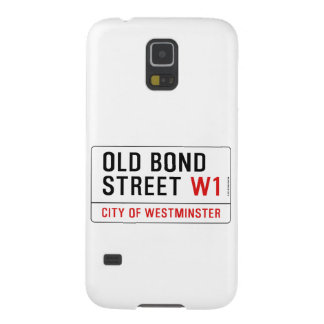 Old Bond Street Case For Galaxy S5