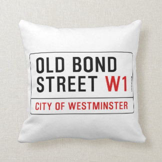 Old Bond Street Cushion
