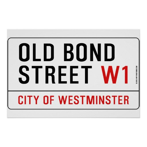 Old Bond Street Posters