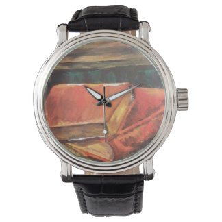 Old Books Painting on Watch