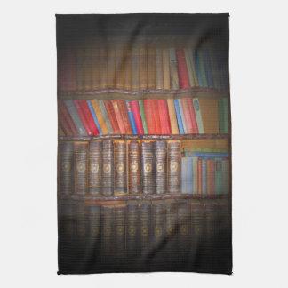 Old Books Tea Towel