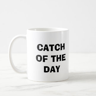 OLD BOOT, CATCH OF THE DAY, FISHER BASIC WHITE MUG