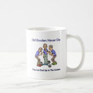 Old Bowlers Never Die Basic White Mug