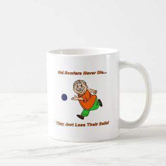 Old Bowlers Never Die Coffee Mug