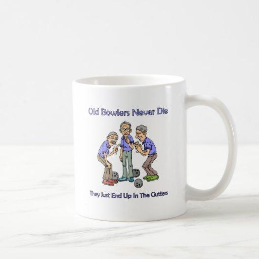 Old Bowlers Never Die Coffee Mugs