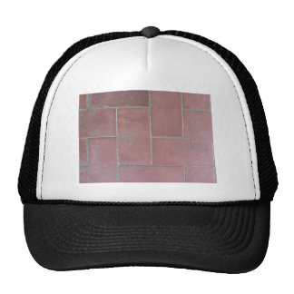 Old brick footpath background cap