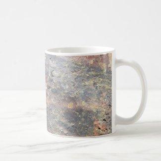Old brick on  coffee mug