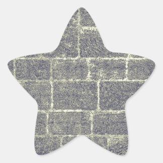 Old Brick Stone Design Nonsymmetric Stone Wall Sticker