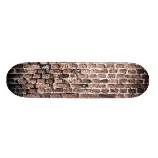 Old brick wall grunge background skate deck