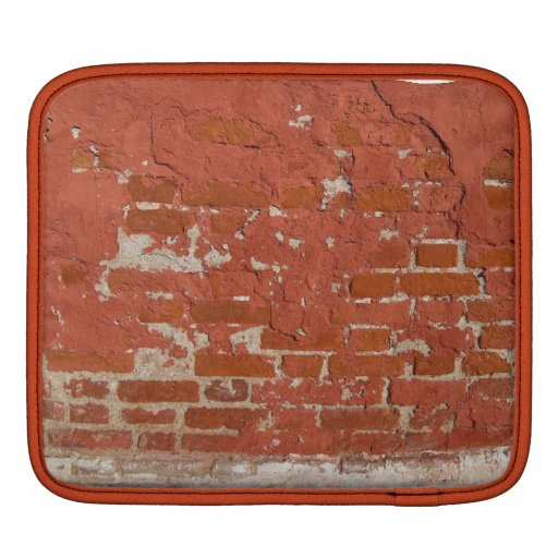Old brick wall sleeves for iPads