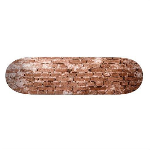 Old Brick Wall Skate Board